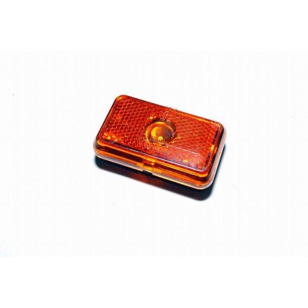 Sidemarkeringslygte Orange. Type : Jokon SMLR 130. Mål : 75 x 45 mm