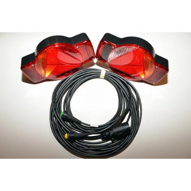 Humbaur Komplet lygtesæt incl. pærer, 5 m kabel